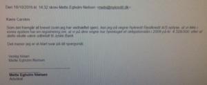 18-10-2016 Skriver Mette Egholm Nielsen Nykredit Der findes intet lån på 4.328.000 kr. i Nykredit
