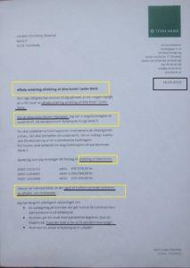 Birgit Bush Thuesen Jyske Bank , sender kunder til aflivning, grundet at Jyske Bank bedrager deres mangeårig erhvervskunde
